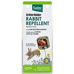 Safer Brand 5961 Critter Ridder Rabbit Repelling Stations – 3 Pack