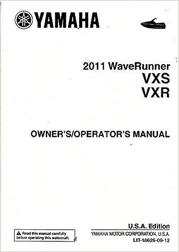 yamaha jet ski owners manual