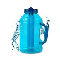 Cool Gear 75 oz EZ Freeze Water Bottle w/Handle Straw and Ice Pack