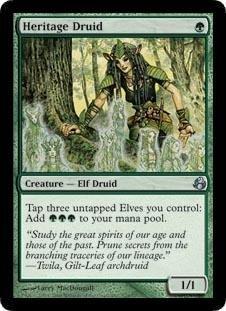 Magic: the Gathering - Heritage Druid - Morningtide - Foil