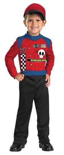 Boneyard Racer Costumes (Boneyard Racer Costume - Toddler Size)