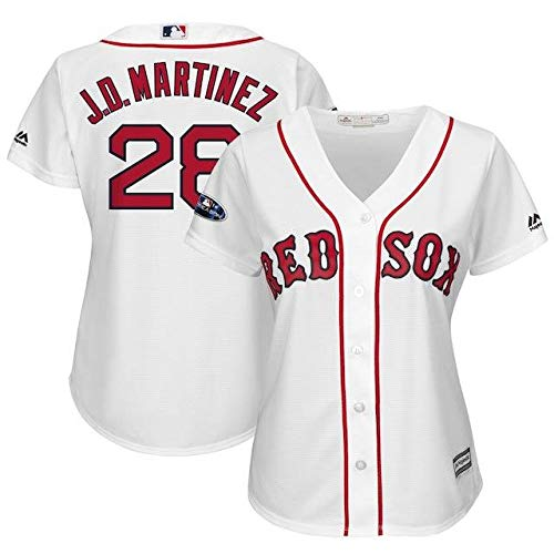 Majestic Majestic Cool J.D. Red Martinez Boston Postseason Red Sox Women's White 2018 Postseason Home Cool Base Player Jersey スポーツ用品【並行輸入品】 XXL B07HJXDZGS, ロカクーストア。 LOKAKUU STORE:60c91fb8 --- cgt-tbc.fr
