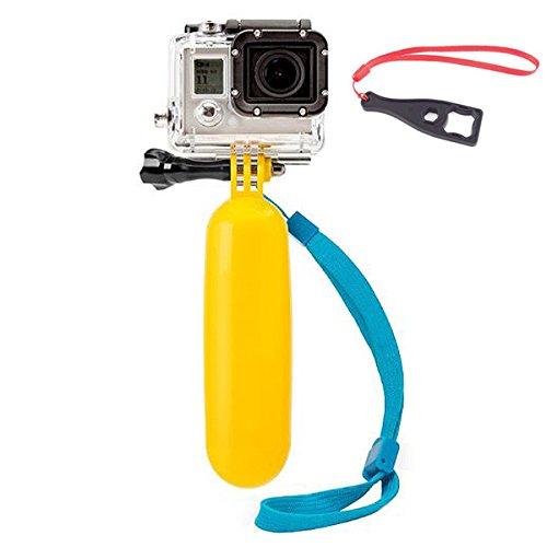 First2savvv GO-FLB-C13BS Floating Hand Grip Bobber Monopod Monopole for GoPro Hero Camera 4 3+ 3 2 HERO4 Session sj4000 sj5000 Xiaomi yi + spanner wrench