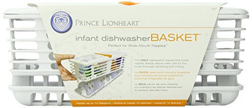 Prince Lionheart Deluxe Dishwasher Basket, Infant Deluxe Infant Dishwasher Basket