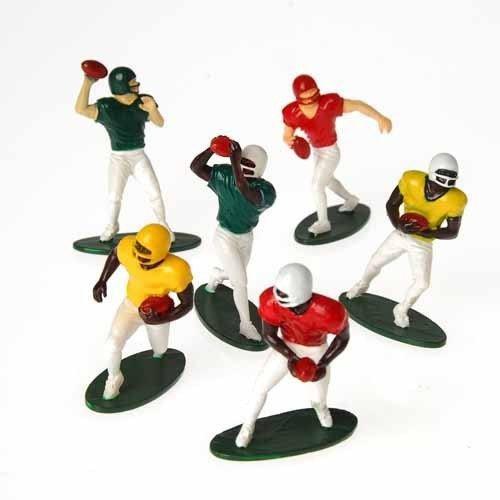 US Toy -Football Players Toy Figures, Set of 12 (Six Assorted Poses), 2.5