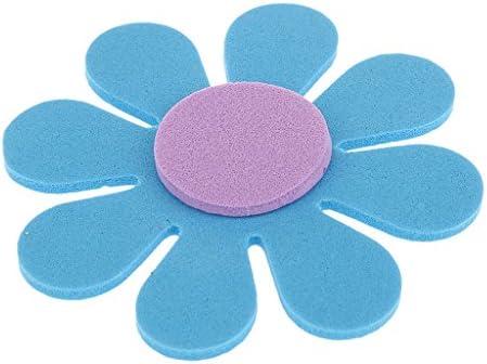 dailymall 150個の子供用の自己粘着ステッカーハートと花の泡のステッカーDIYアソートカラー