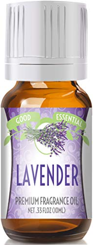Lavender Scented Oil by Good Essential (Premium Grade Fragrance Oil) - Perfect for Aromatherapy, Soaps, Candles, Slime, Lotions, and More!