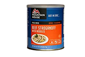 Mountain House Beef Stroganoff with Noodles #10 Can