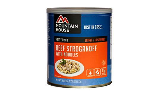 Mountain House 290118 Beef Stroganoff with Noodles - 10 Can