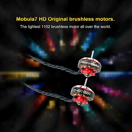 Wikiwand 1.5MM 10000KV Brushless Motor for Sailfly-X Mobula7 HD Drone 2s-3s 75mm-85mm by Wikiwand (Image #1)