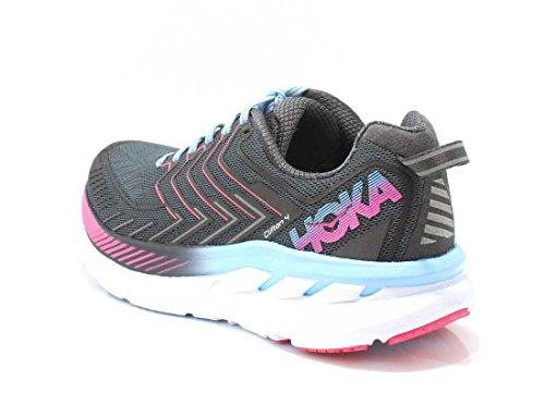 Hoka One One Clifton 4 Running Shoes Women Castle Rock/Asphalt Schuhgröße US 7,5 | 39 1/3 2017 Laufschuhe