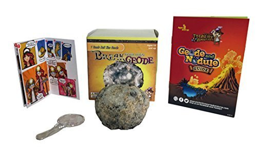 Break Your Own Geode Tennis Ball Size By Ancient Treasure Adventures by Gem Center U.S.A.