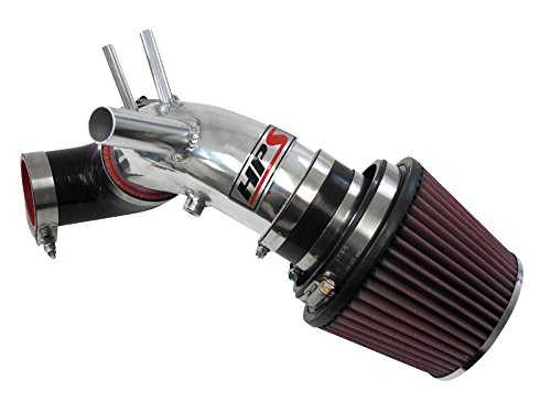 HPS 27-201P Polish Short Ram Air Intake Kit (Non-CARB ()
