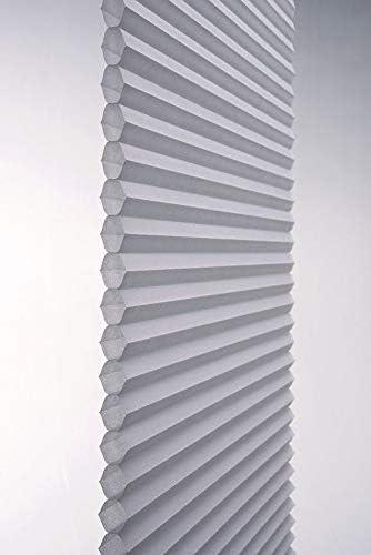 TDBU Light Filtering Cellular Shade 18 1//2 W x Platinum Linen Avenue Custom Cordless Top Down Bottom 36 to 42 H Up