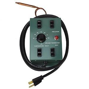 GC-4 Pro Grow Large Thermostat Controller - Run Up To 4 Pro Grow Mats