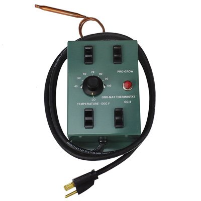 GC-4 Pro Grow Large Thermostat Controller - Run Up To 4 Pro Grow Mats