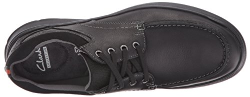 Clarks Mens Cotrell Edge Oxford Nero Oleoso