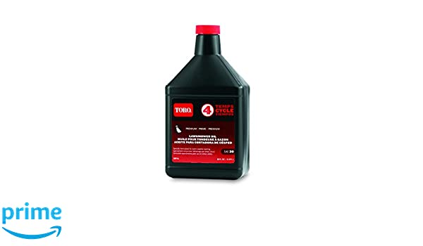 Toro 38916 cortacésped del aceite del motor, Negro: Amazon ...