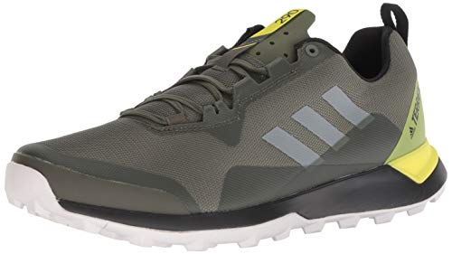 adidas outdoor Men's Terrex CMTK, Base Green/Grey one/Shock Yellow, 12 D US