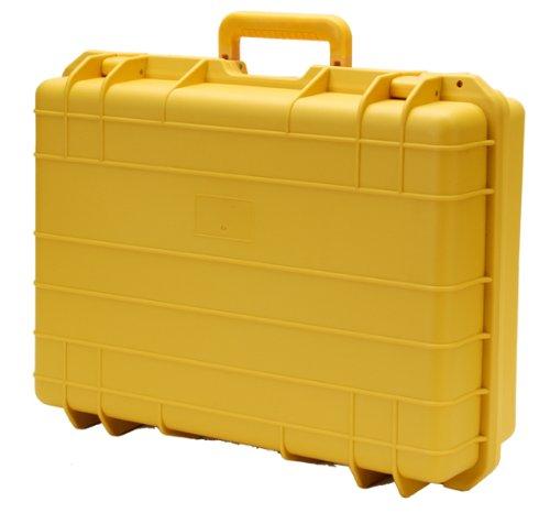 T.Z. Case International Cape Buffalo Molded Utility Case, Yellow, 12-Inch ()