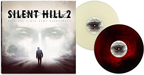 Price comparison product image Silent Hill 2: Original Video Game Soundtrack - Exclusive Limited Edition White Fog / Red& Black Swirl Colored 2xLP Vinyl