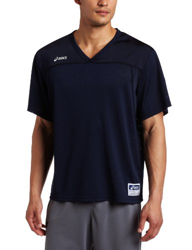 ASICS Men's Cradle Jersey, Navy, Large
