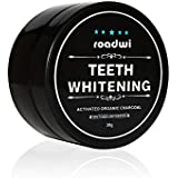 Roadwi Teeth Whitening Charcoal Powder Natural Activated Charcoal Powder Teeth Whitener for Healthy Cleaner - Spearmint Flavored