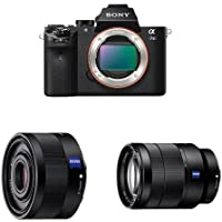 Sony a7 II Mirrorless Digital Camera w FE 35mm F2.8 and FE 24-70 F4 Lens