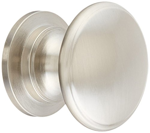 Hardware Cabinet Nautical (Amerock BP53012-G10 Satin Nickel Traditional Ring Cabinet Hardware Knob, 1-1/4 Inch Diameter, 25 Pack)