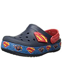 Crocs Boys' Crocband Superman K Clog