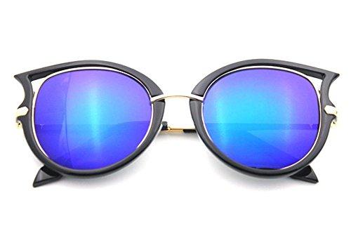 Style New universel de D féminin châssis XYLUCKY g polarisant lunettes soleil soleil Réflectorisé Fashion lunettes de grand x804Cwz0