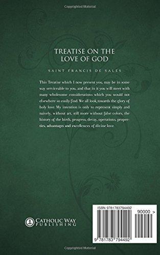 Treatise On The Love Of God Saint Francis De Sales Reverend Henry