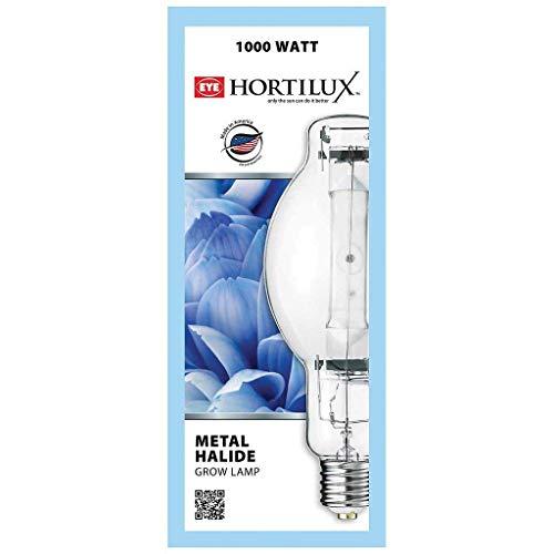 Eye Hortilux Blue (Daylight) Super Metal Halide (MH) Lamp, 1000W ()