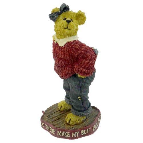 Boyds Bears Resin Uneeda Biggersize These Musta Shrunk Diet Bearstone - Resin 4.50 IN
