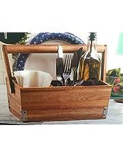 Core Kitchen Acacia Buffet Caddy