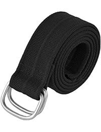 Cotton Mens Belt Loop Buckle Silver Buckle Cloth Belts Designer Belts