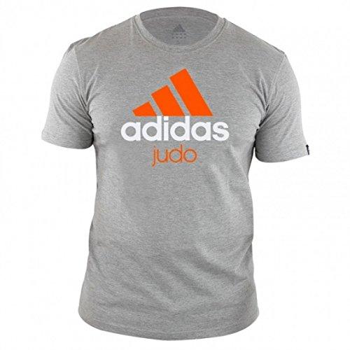 adidas Community T-Shirt Judo Unisexe Gris Taille M–M