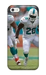 Belva R. Fredette's Shop 6973162K16400037 Faddish Miami Dolphins Case Cover For Iphone 5/5s