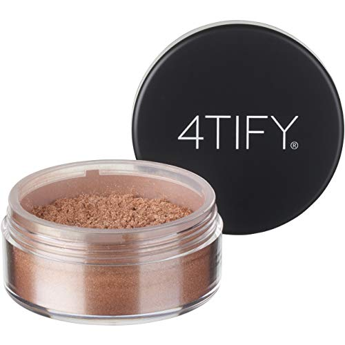4TIFY Loose Shimmer Body & Face Highlighter, Champagne Glow, 10g ()