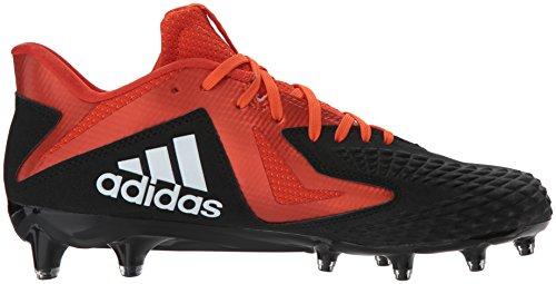 Adidas Mænds Freak X Kulstof Midten Fodbold Sko Kerne Sort / Hvid / Kollegialt Appelsin 4XZPFWzP