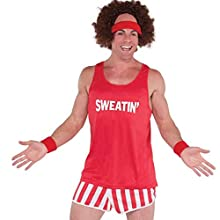 amscan Exercise Maniac Character Costume Kit   2 Ct.