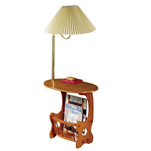 Wal Mart Desk Chair - Magazine Storage Lamp Table Warm Brown