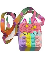 Fidget Toy schoudertas, creatieve stress verlichting rits crossbody tas voor kinderen, vrouwen