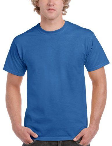 Blue royal Cotton Adult T voor Solid Ultra 2000 shirt Gildan heren xz6nqFC