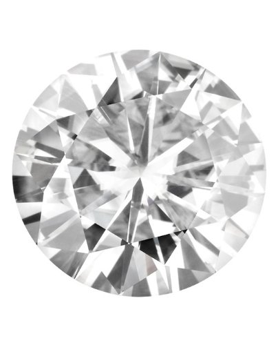 12.0 MM Round Brilliant Cut Forever Brilliant Moissanite by Charles & Colvard 57 Facets - Very Good Cut (5.32ct Actual Weight, 6.13ct. Diamond Equivalent Weight) by Forever Brilliant®