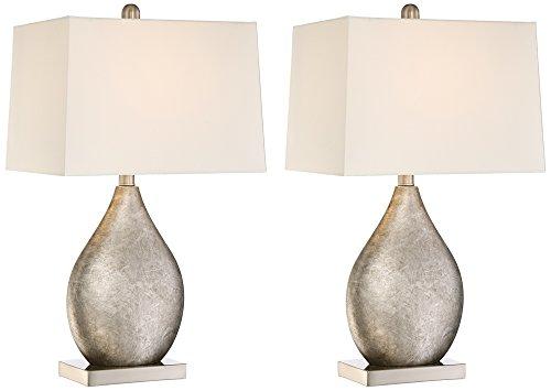 royce teardrop metal table lamp