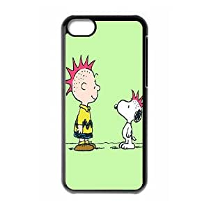 iPhone 5c Cell Phone Case Black Snoopy bca