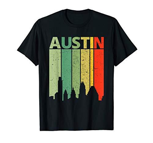 Austin Shirt | 80's Vintage Retro Austin Skyline -