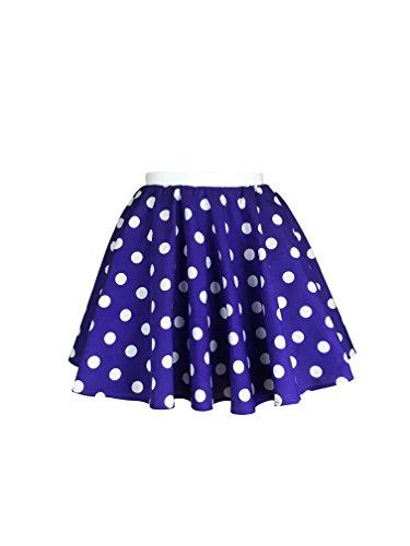 Meisjes Rock n Roll Polka Dot Rok 50/60's Style Fancy Dress