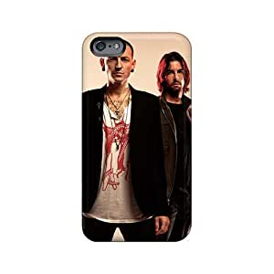 Great Hard Phone Covers For Iphone 6plus With Customized Stylish Linkin Park Skin PhilHolmes